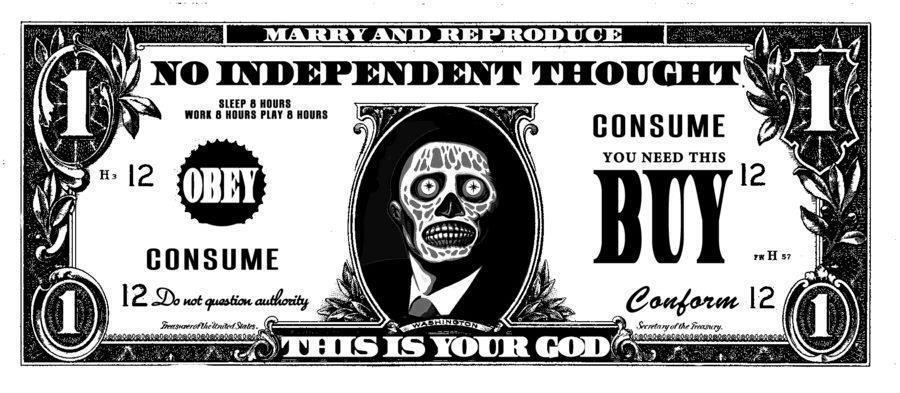 Peníze jsou tvým Bohem
